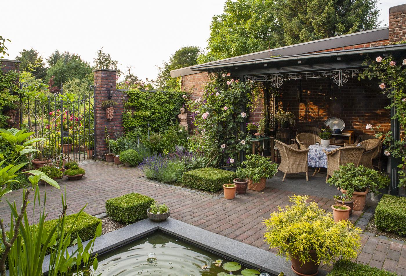 Vorher Nachher Ansichten Einiger Gartenrealisierungen Verona Michael